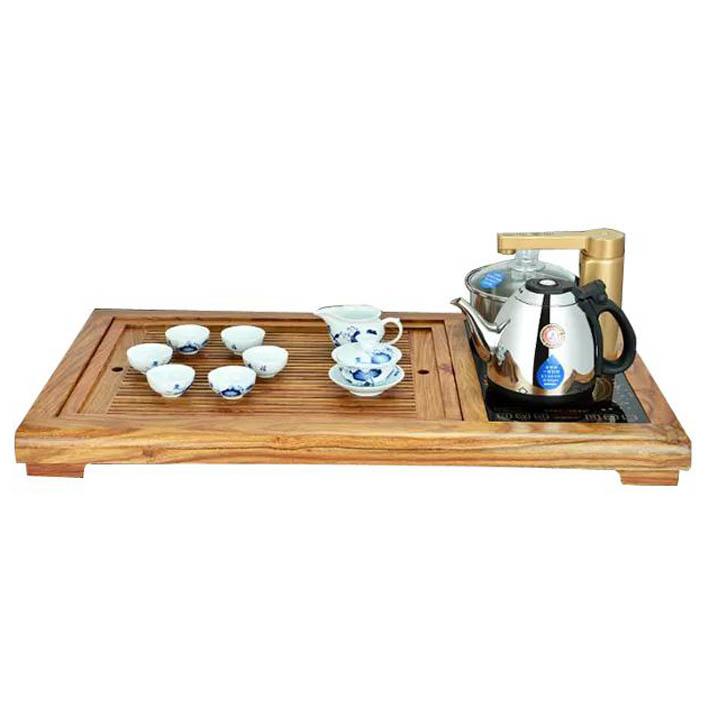 金花梨木茶盘泡茶机